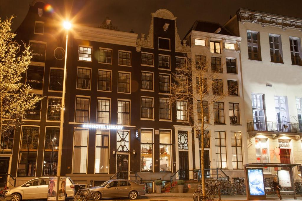 Hotel library amsterdam amsterdam book your hotel with for Booking hotel amsterdam