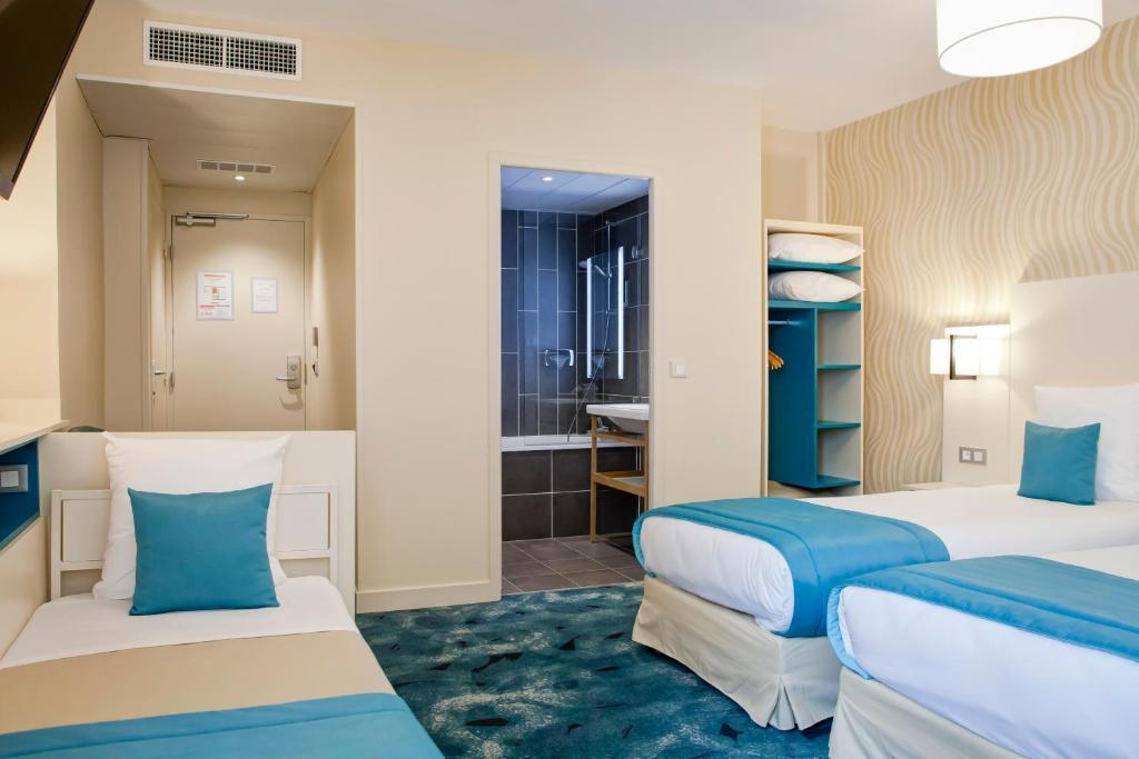 Hotel des remparts perrache r servation gratuite sur for Reservation de chambre