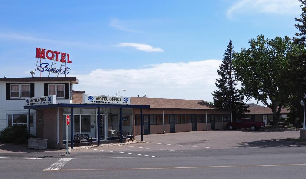 Sunset motel r servation gratuite sur viamichelin for Reservation motel