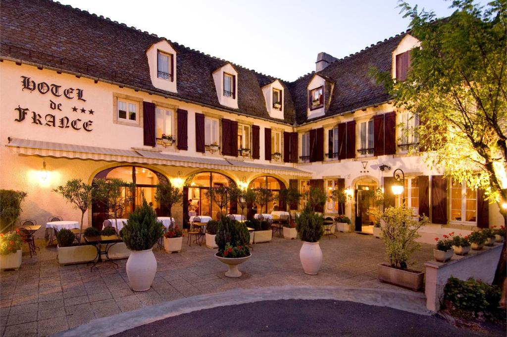 Hotel de france r servation gratuite sur viamichelin for Reservation hotel gratuit france