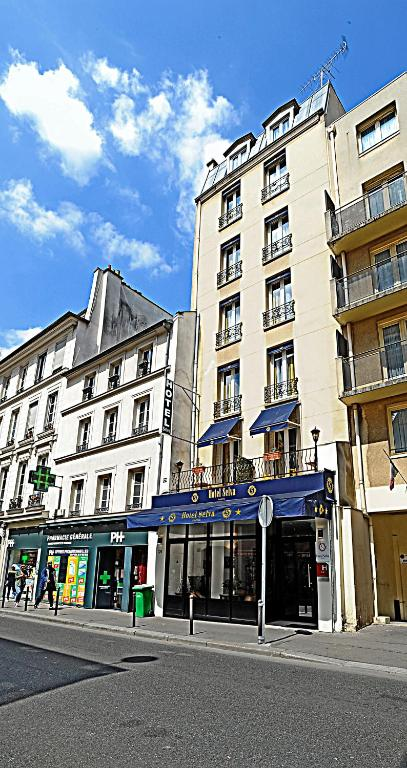 H tel selva paris r servation gratuite sur viamichelin for Reservation hotel gratuite paris