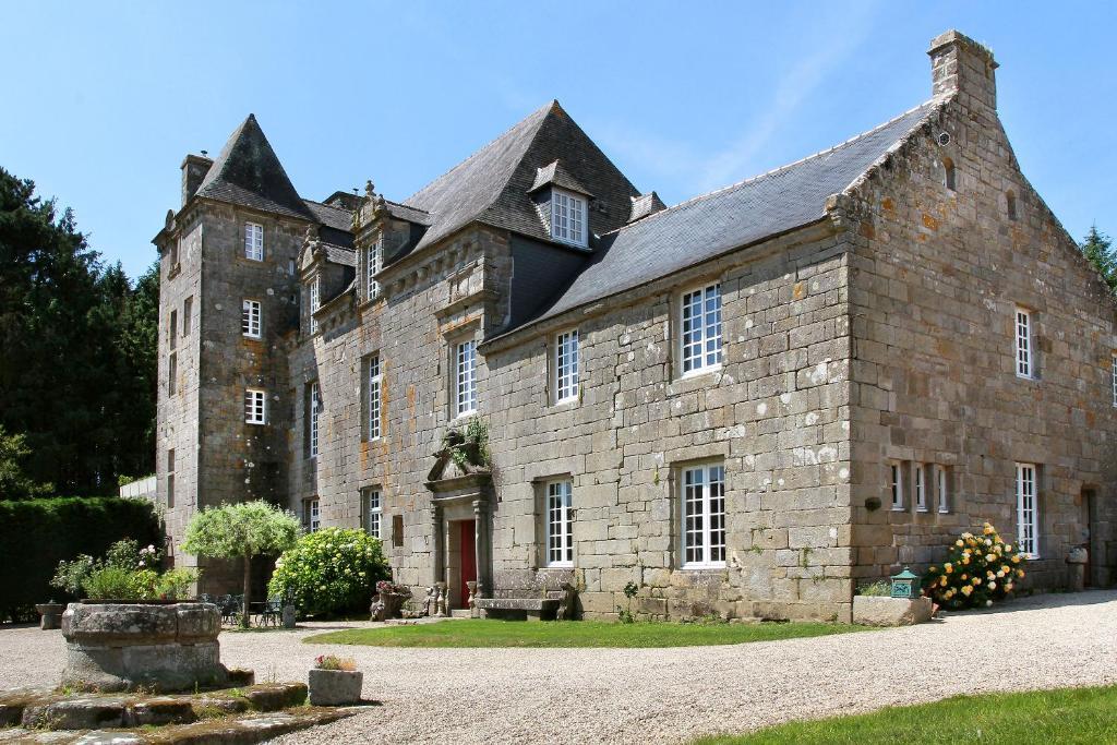 Vườn quanh Hotel The Originals Manoir de Moëllien (ex Relais du Silence)