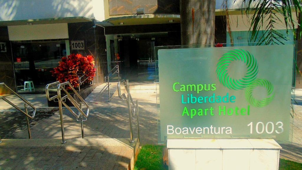 החזית או הכניסה של Campus Liberdade Flat
