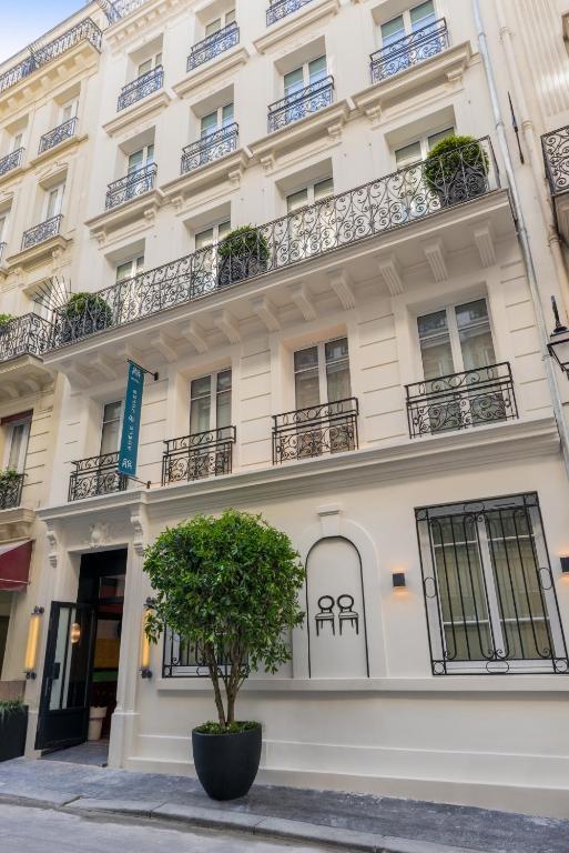 H tel ad le jules r servation gratuite sur viamichelin for Reserver un hotel paris