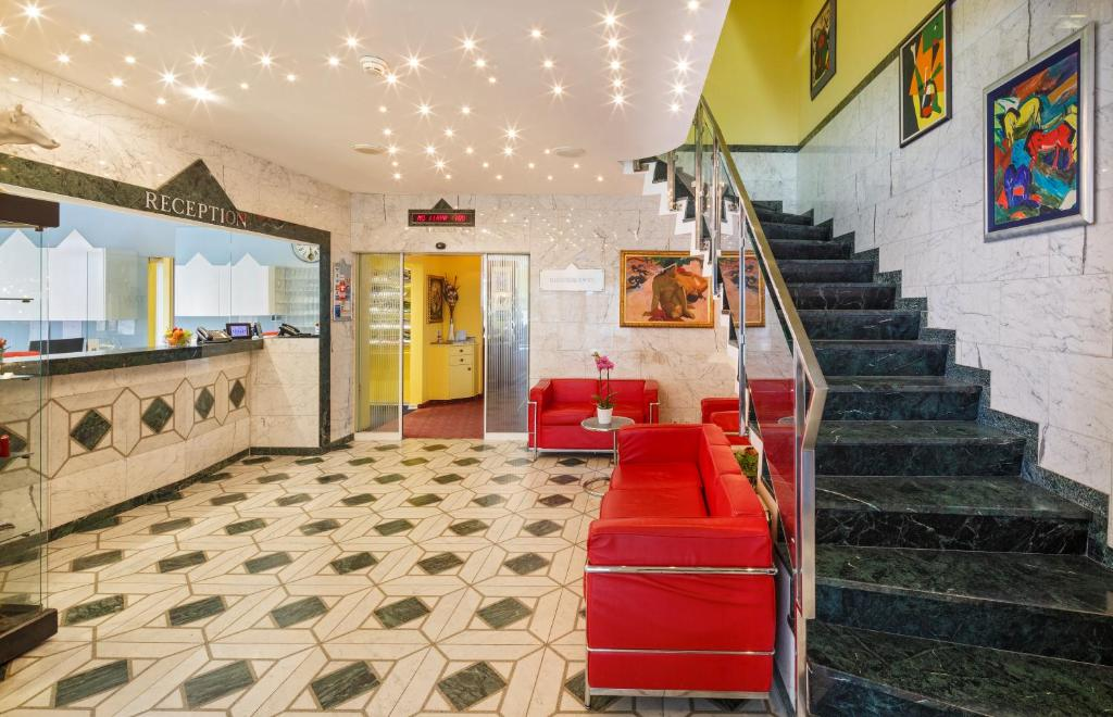 Khu vực sảnh/lễ tân tại Hotel Luzernerhof