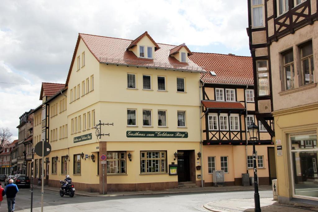 Hotel Garni Zum Goldenen Ring Quedlinburg