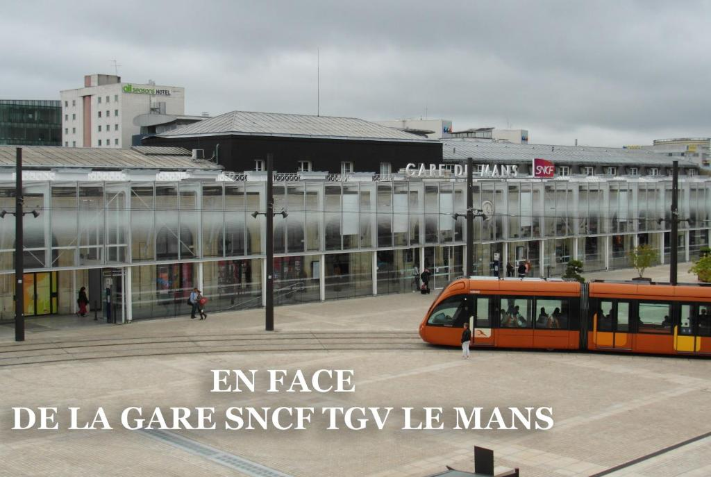 Ibis styles le mans gare sud le mans book your hotel for Hotels le mans