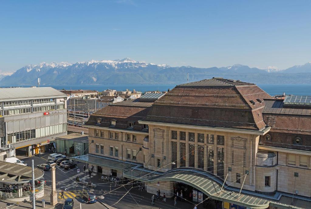 Hotel  Ef Bf Bd La Gare Lausanne