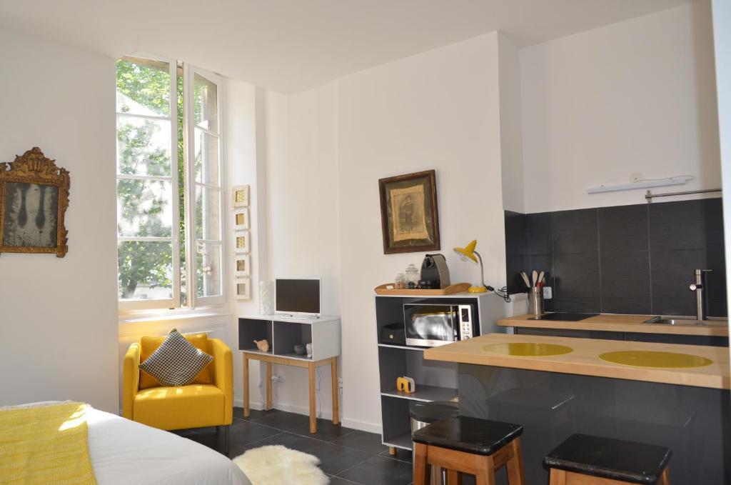 Appartement cosy bordeaux centre bordeaux for Appartement cathedrale ybh bordeaux
