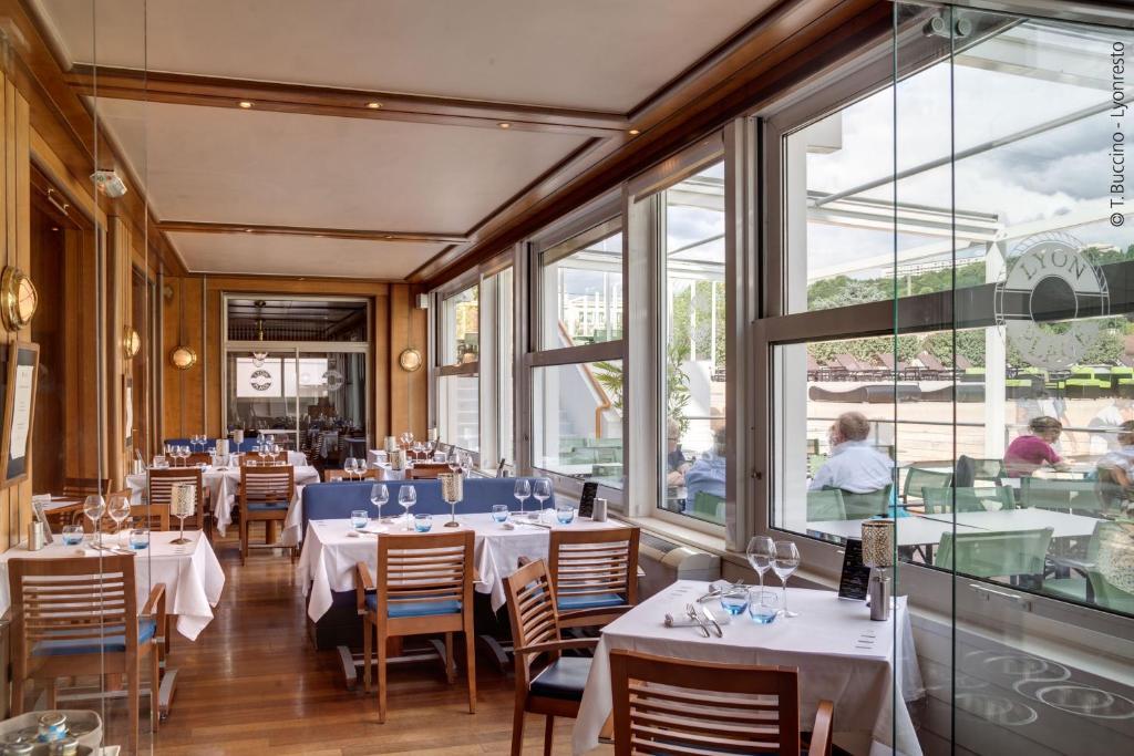Hotel Metropole Lyon Restaurant