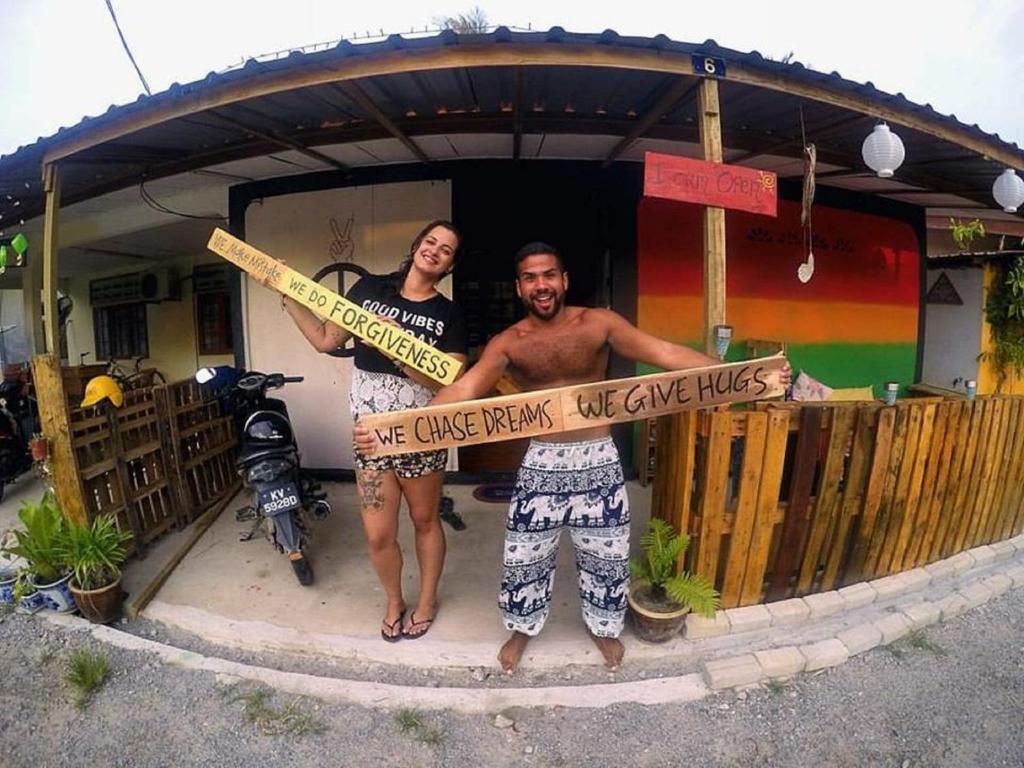 Huéspedes de Two Peace House