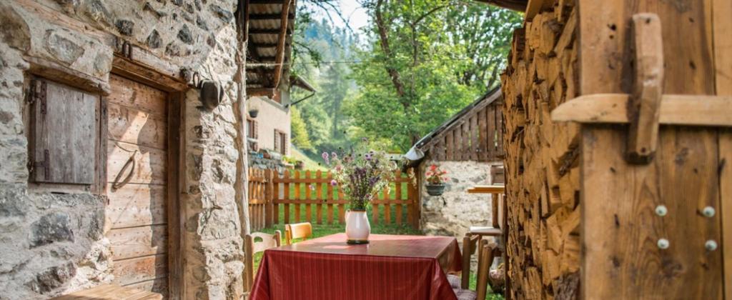 Baita del beniamino roncegno terme informationen und for Le piu belle baite in montagna