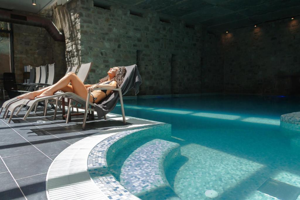Hotel helvetia thermal spa porretta terme prenotazione on line viamichelin - Hotel con piscina termale toscana ...