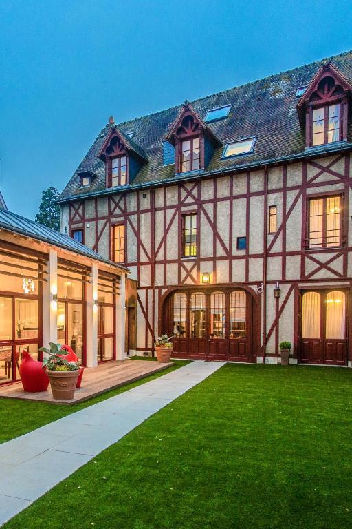 Hotel Spa Au Charme Rabelaisien Amboise France
