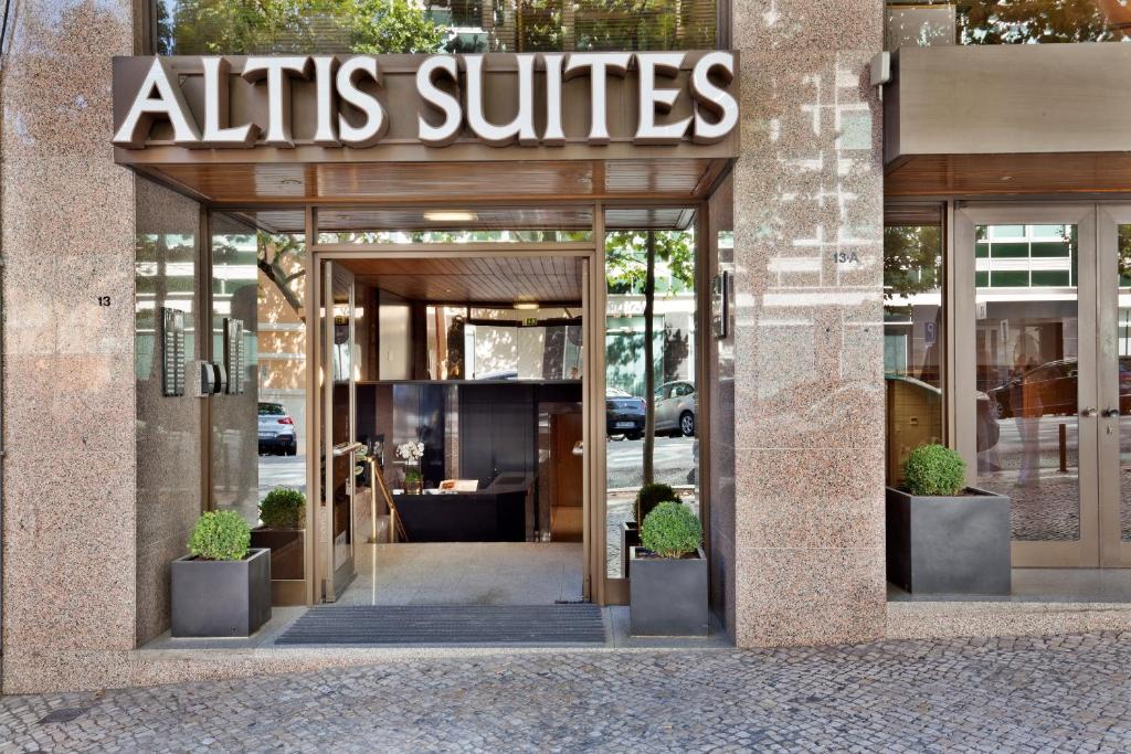 Altis suites lisbona prenotazione on line viamichelin for Hotel boutique lisbonne