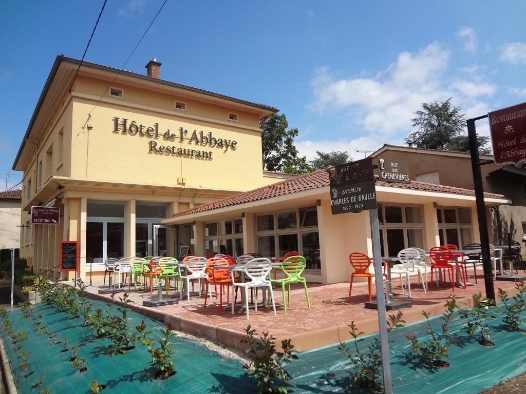 Hotel Restaurant De L Abbaye Cluny