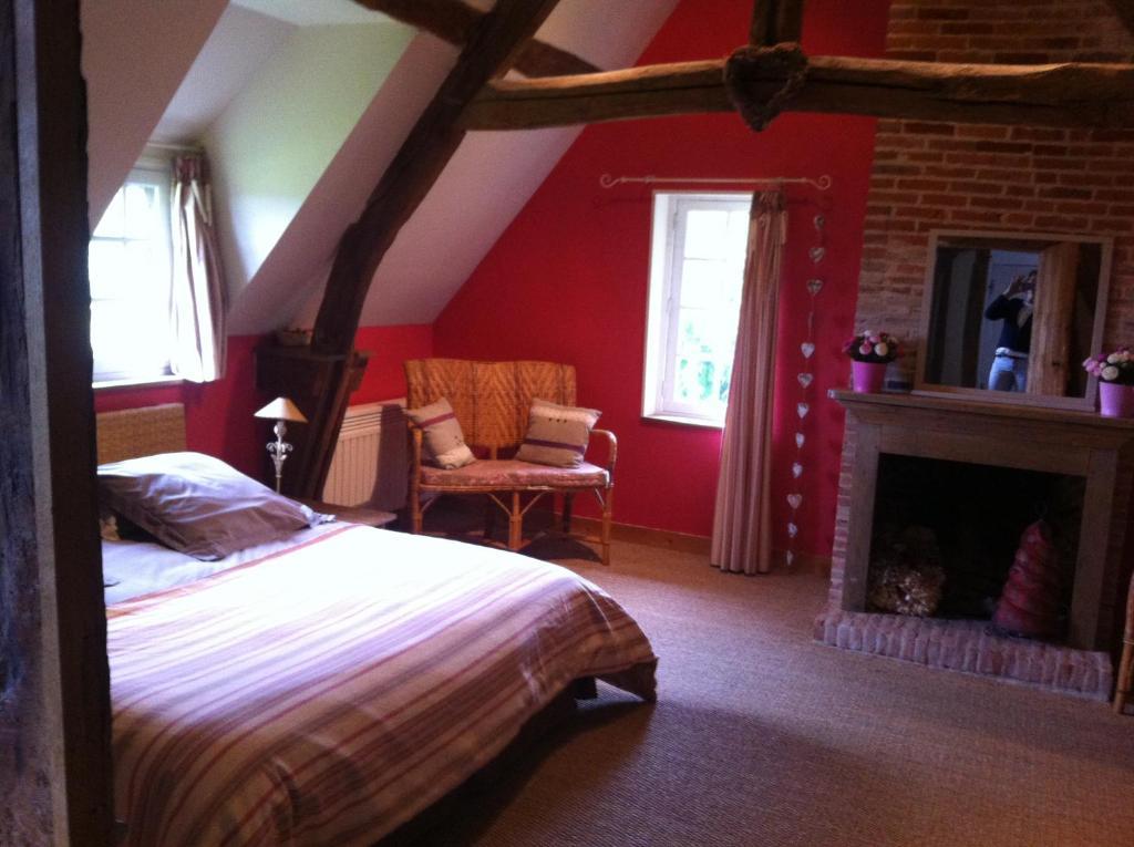 Chambre d39hote pres de deauville gastezimmer surville for Maison dhote a deauville