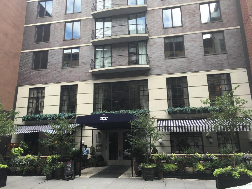 Sixty soho new york book your hotel with viamichelin for Sixty hotel new york