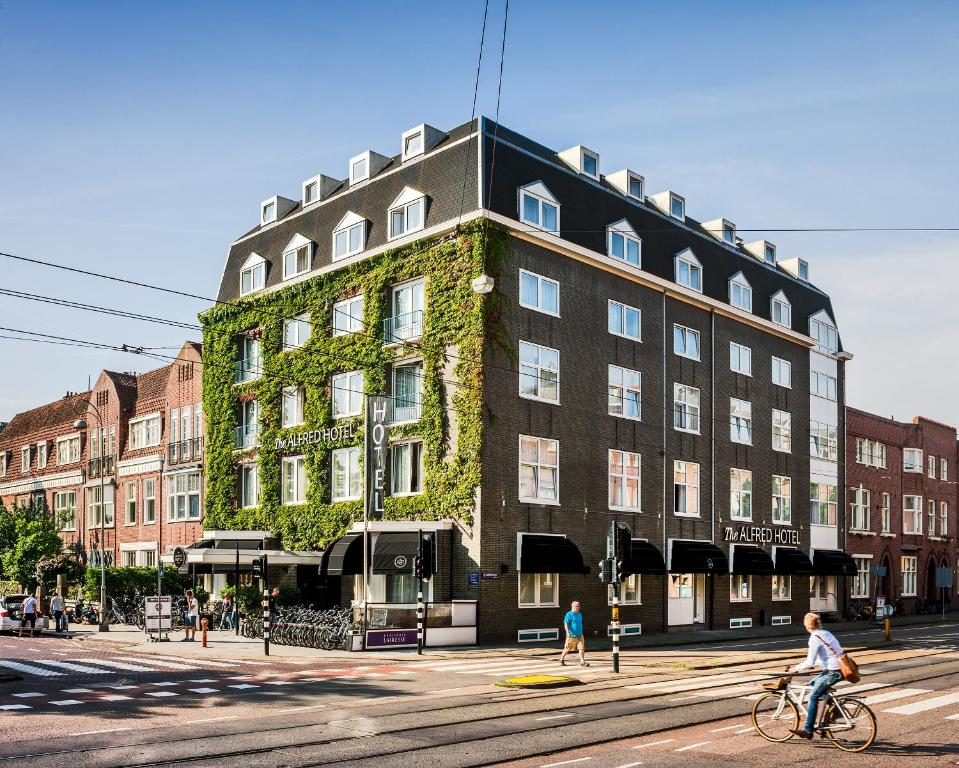 The Alfred Hotel Amsterdam Online Booking Viamichelin