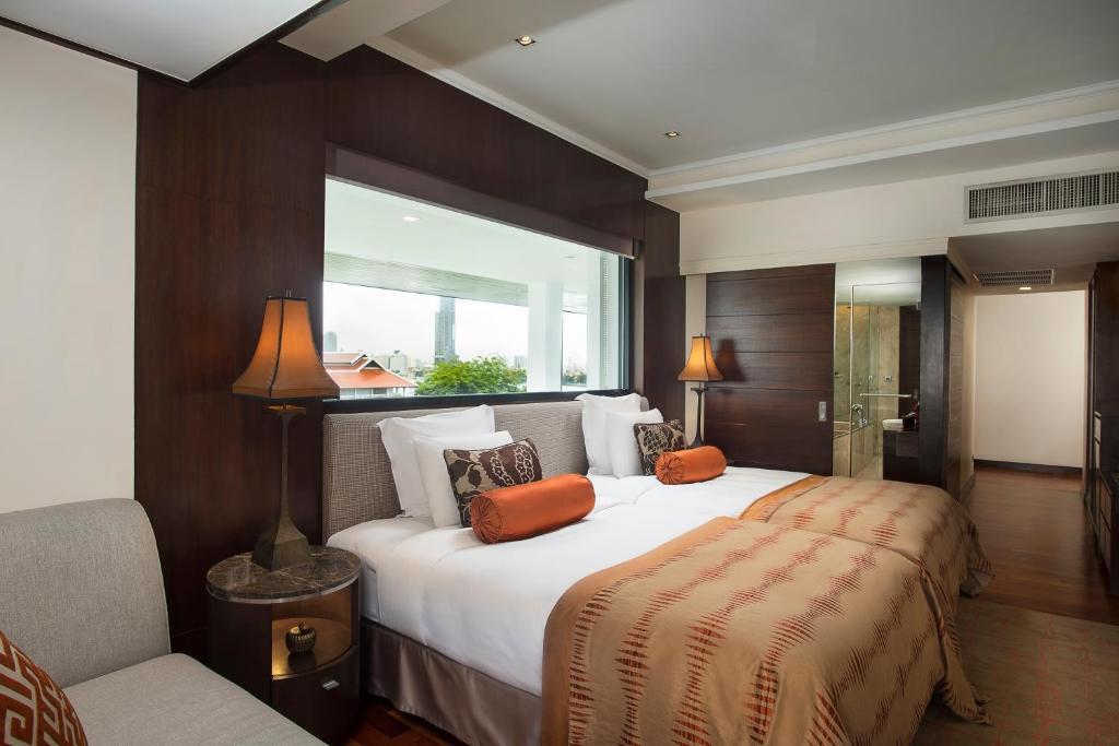 Anantara riverside bangkok resort krung thep viamichelin informatie en online reserveren - Stijl asiatique ...