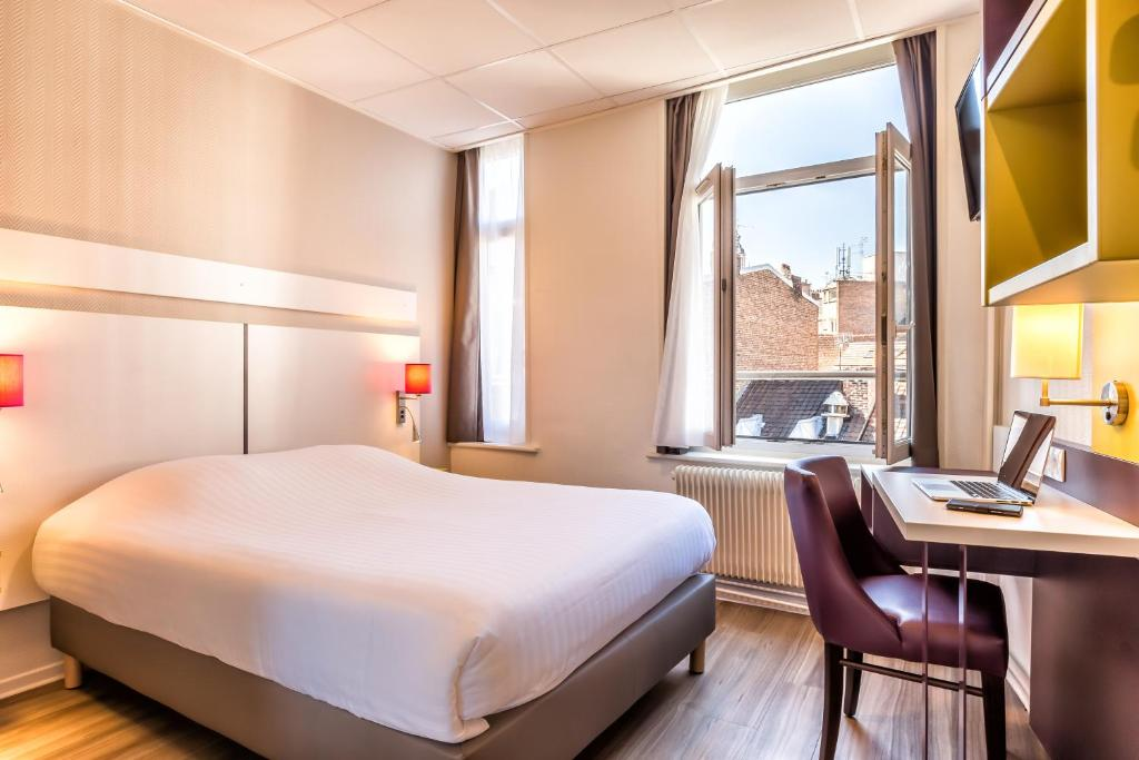 Grand h tel lille lille book your hotel with viamichelin for Hotels lille