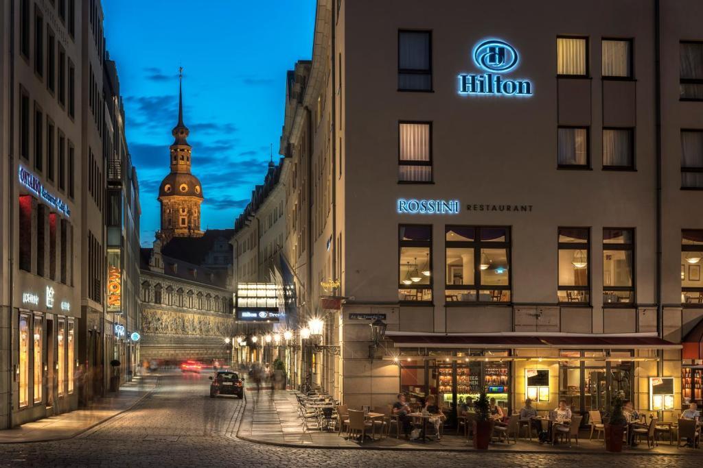 Hilton dresden dresda prenotazione on line viamichelin for Hotel dresden frauenkirche