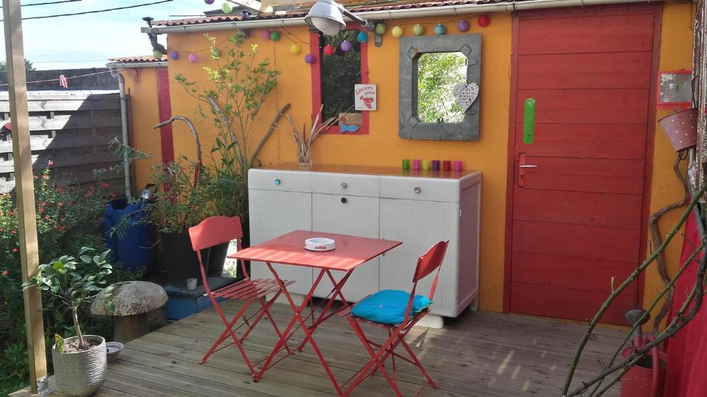 Studio ind pendant chez l 39 habitant brest online booking viamichelin - Amsterdam chez l habitant ...