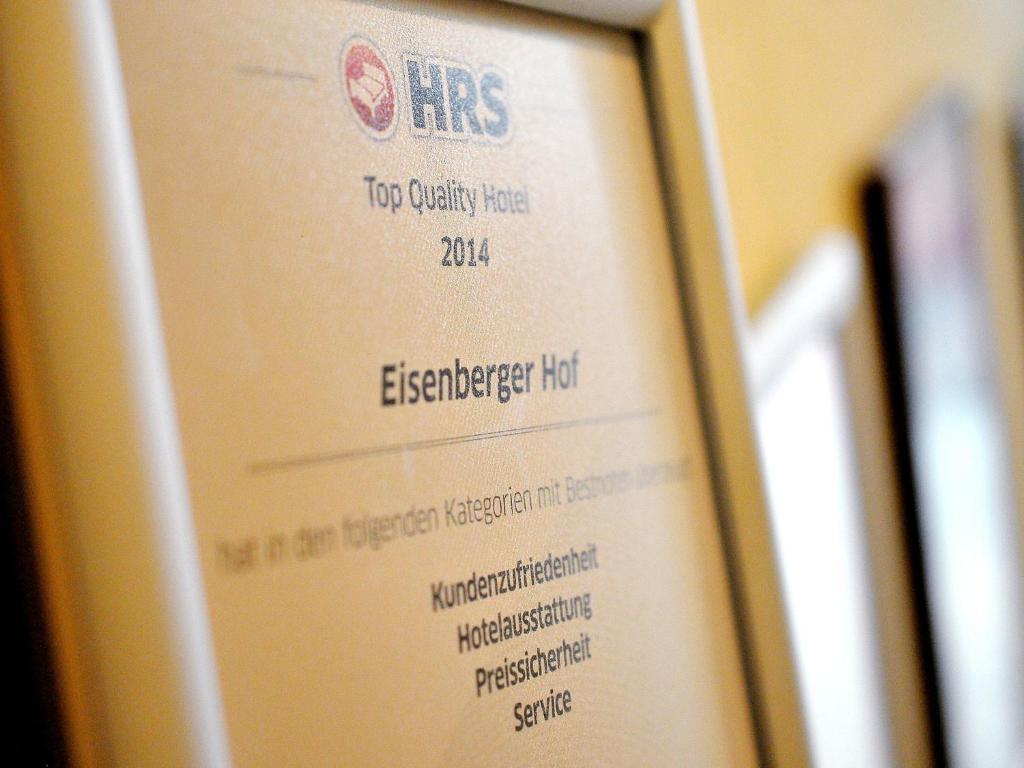 Hotel Eisenberger Hof