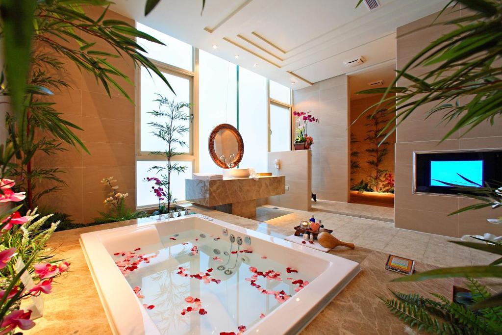 Un baño de Changhua Laurel Boutique Motel