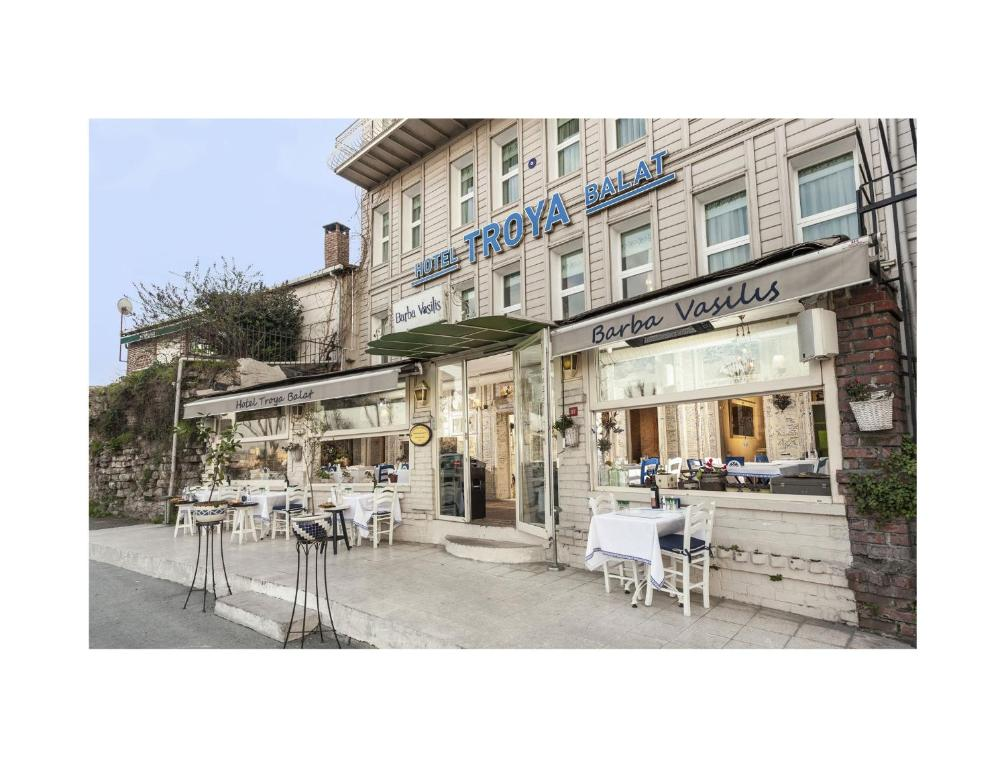 Hotel troya balat fatih book your hotel with viamichelin for Educa suites balat hotel