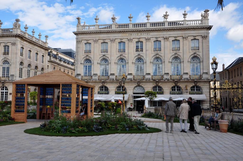 Hotel Restaurant Place Stanislas Nancy