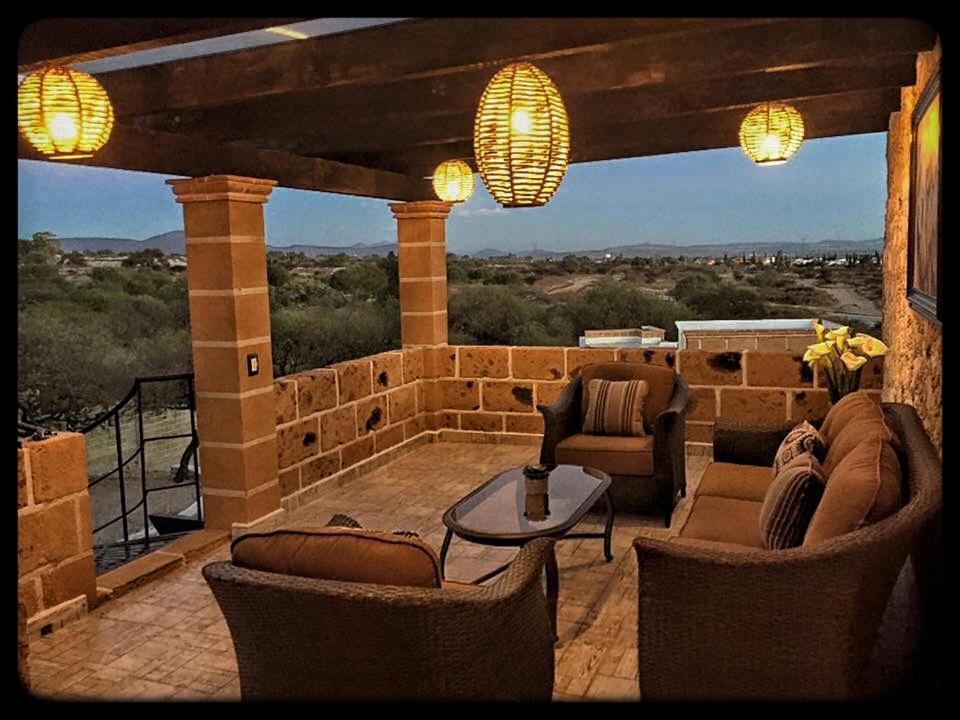 Caba as rancho san jorge m xico bernal for Hoteles para 5 personas