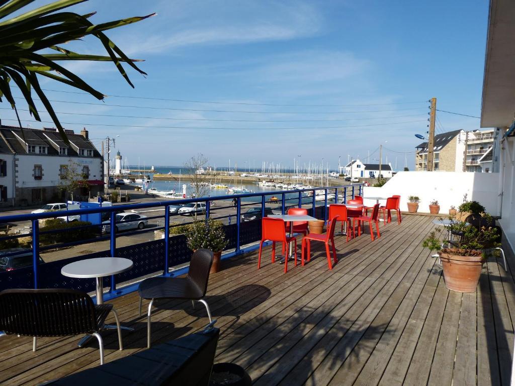 H tel port haliguen r servation gratuite sur viamichelin for Reserver sur booking