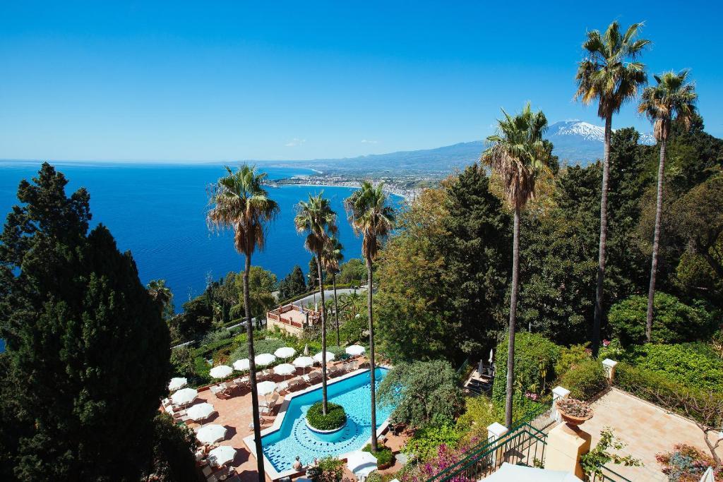 Hotel villa belvedere taormina prenotazione on line viamichelin - La finestra sul mare taormina ...