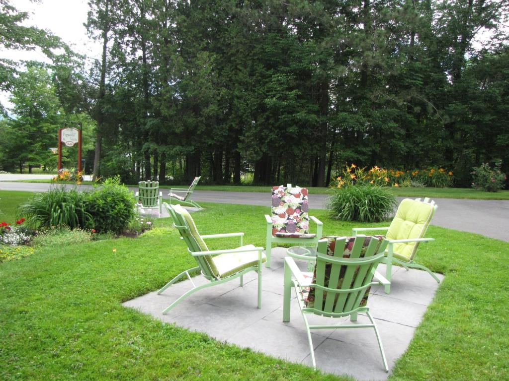 Auberge les pignons vert magog prenotazione on line for Auberge jardin champetre magog