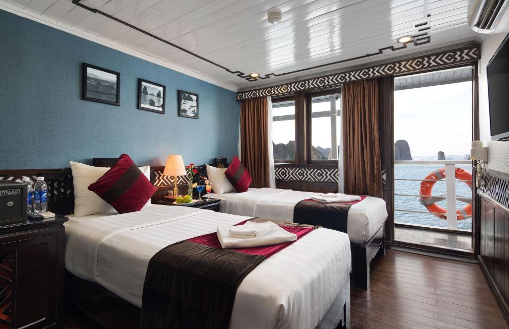 Phòng Premium 2 Giường đơn - 2 Ngày 1 Đêm