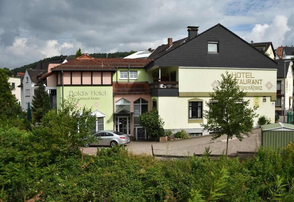 Bold S Hotel Restaurant Zum Grunen Kranz