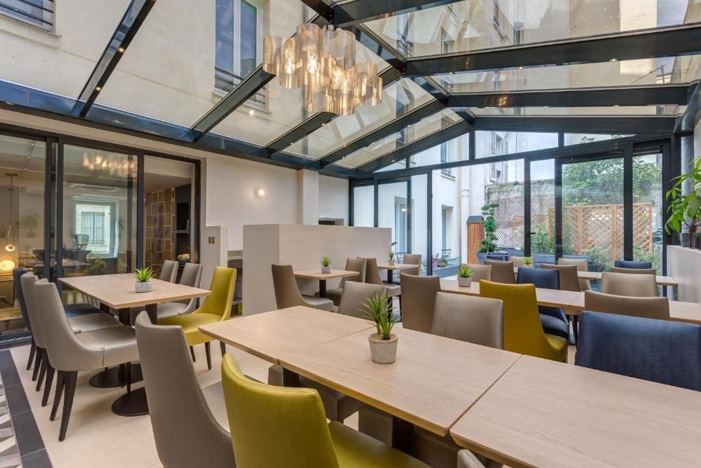 Jardin de villiers paris online booking viamichelin for Jardin tecina booking