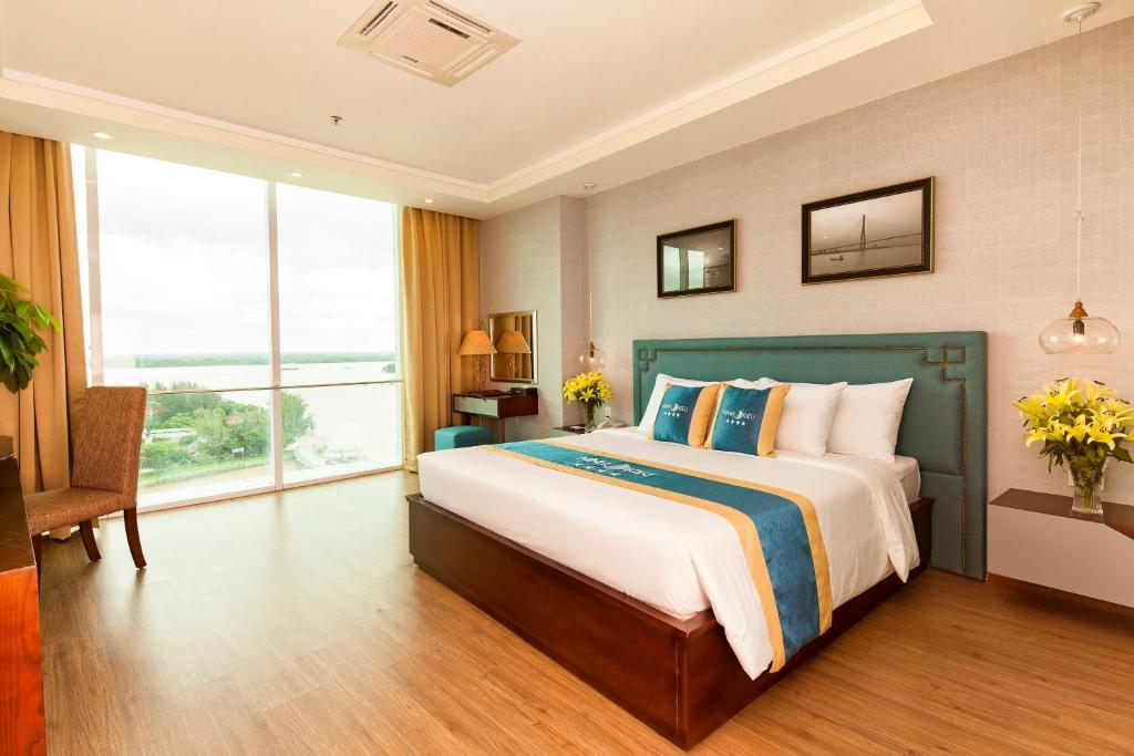 Phòng Giường Đôi Deluxe nhìn ra Sông