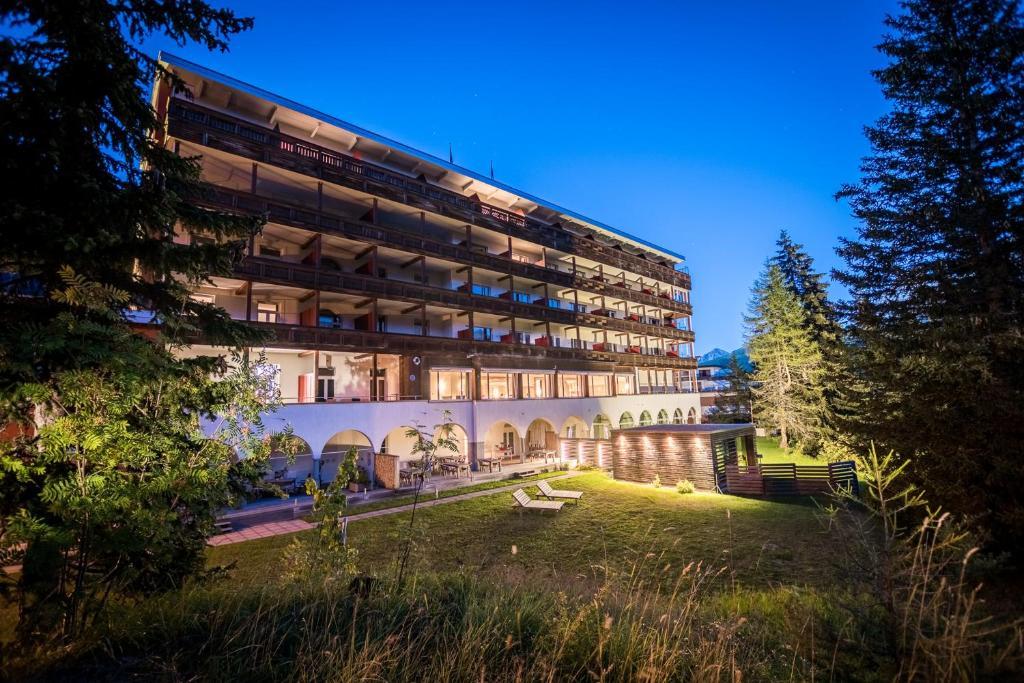 Un jardín fuera de Blatter's Bellavista Hotel