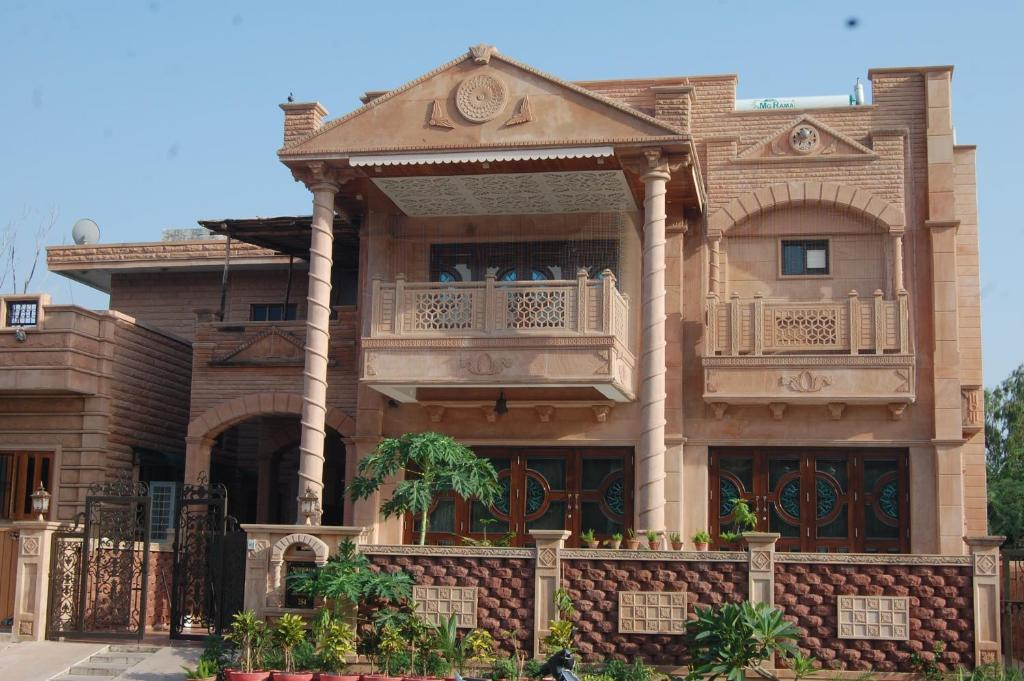 Front Elevation Of Houses In Jodhpur : Nikshay guest house indien jodhpur booking