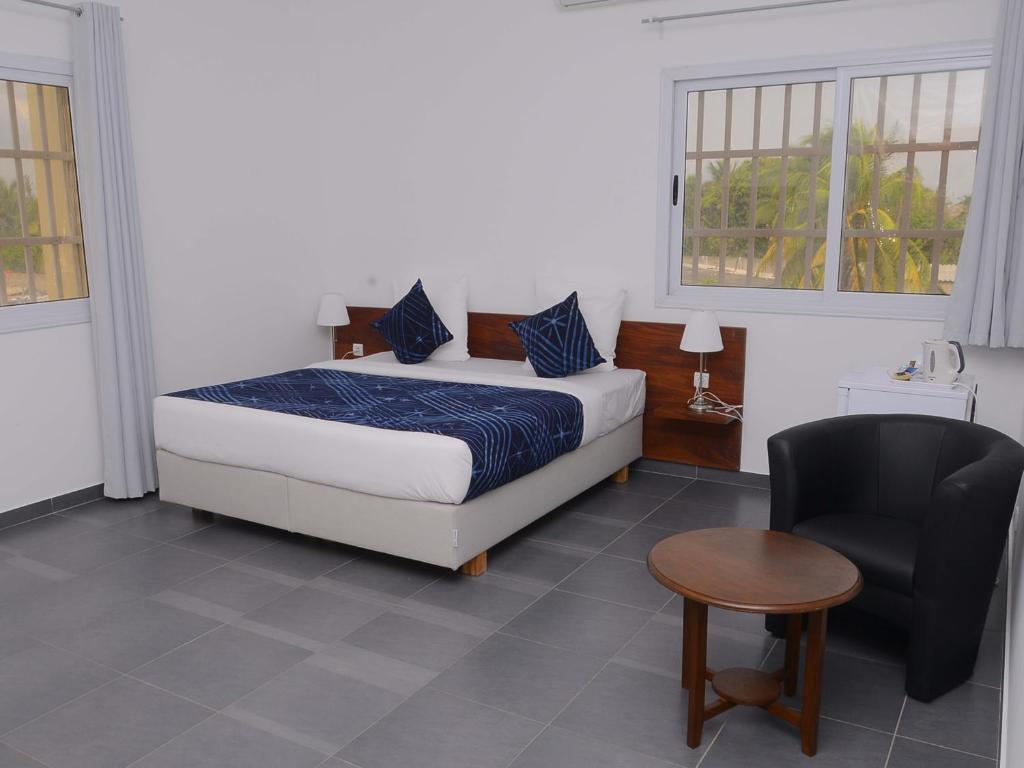 Villa La Palmeraie  Chambres D U0026 39 H U00f4tes Lom U00e9