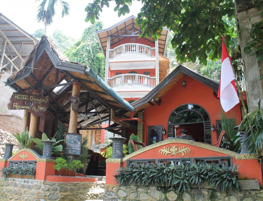 החזית או הכניסה של Hotel Orangutan