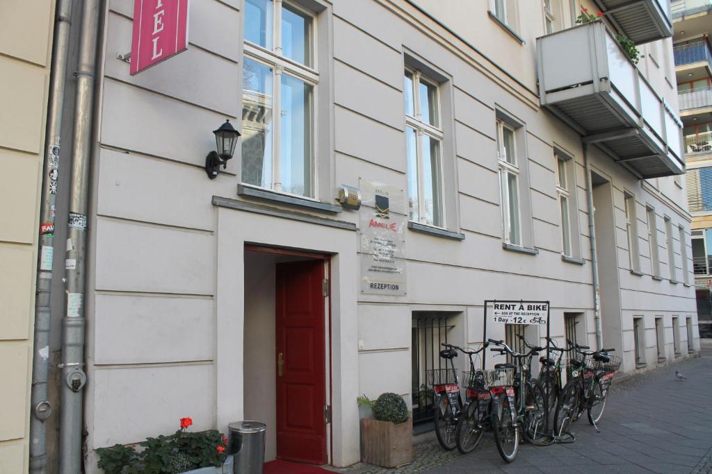 Hotel amelie berlin berl n reserva tu hotel con viamichelin for Hoteles diseno berlin
