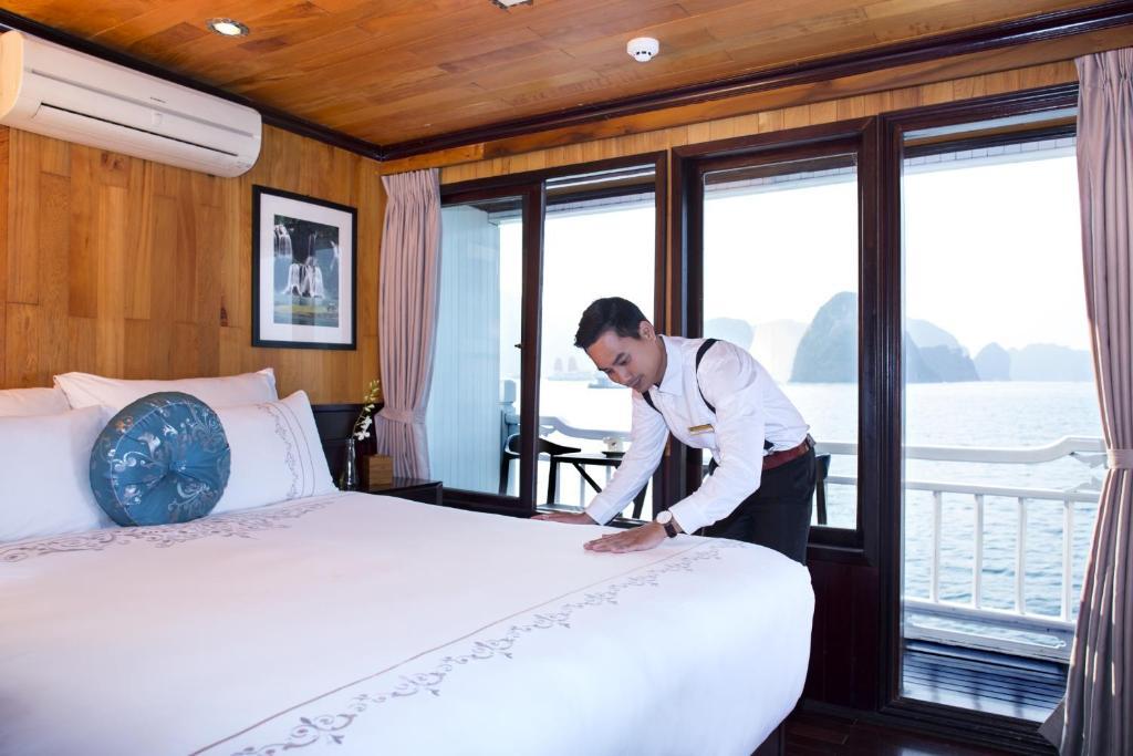 Phòng Luxury Giường Đôi có Ban công - 2 Ngày 1 Đêm