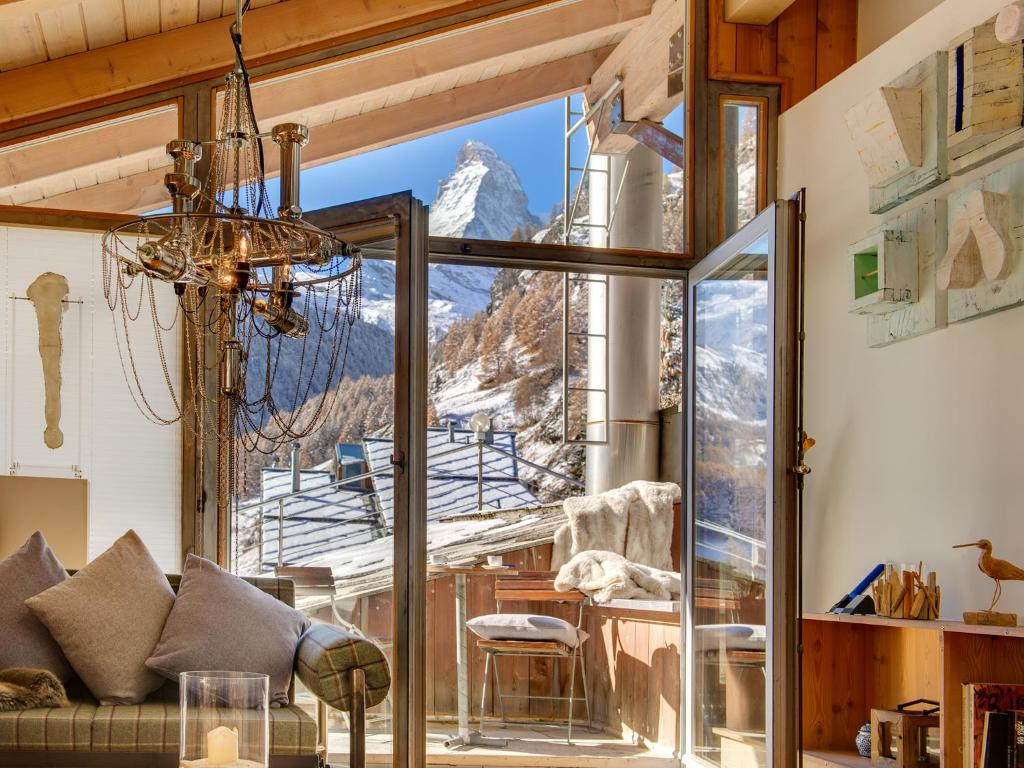 Duplex Two Bedroom Apartment With Matterhorn View And Roof Terrace