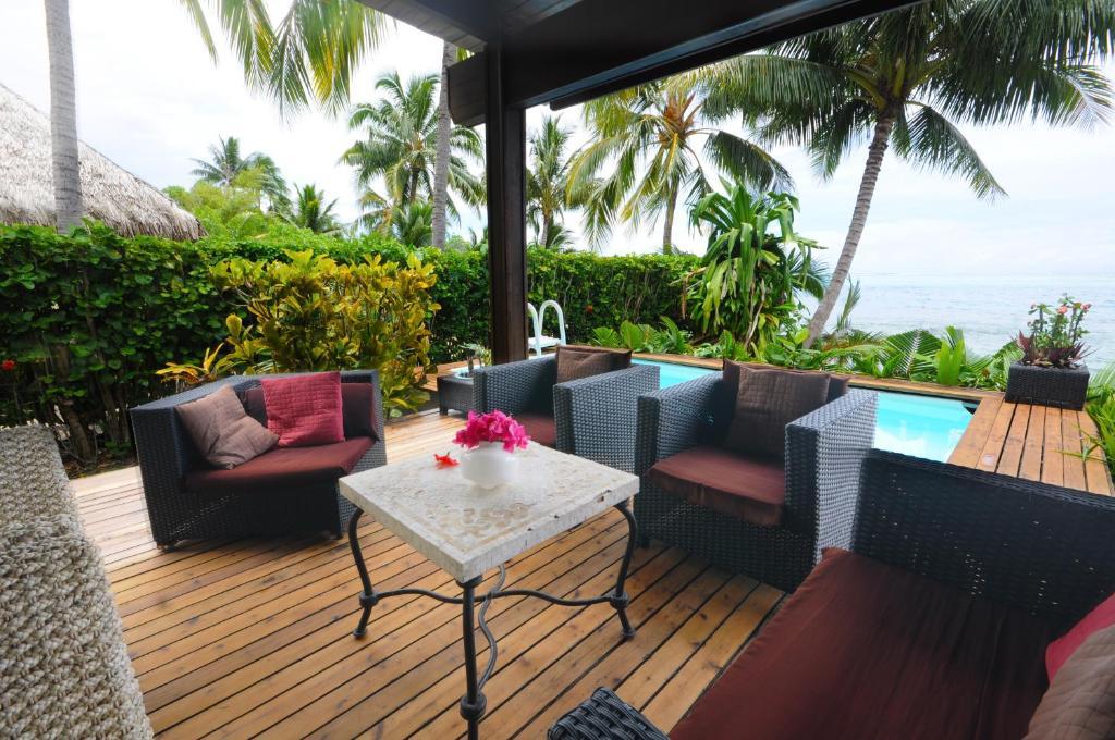 Maharepa beach villa polinesia francesa moorea for Villas francesas