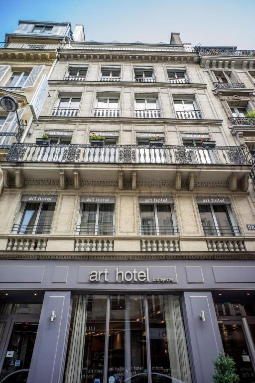 Art Hotel Lafayette Parigi Prenotazione On Line