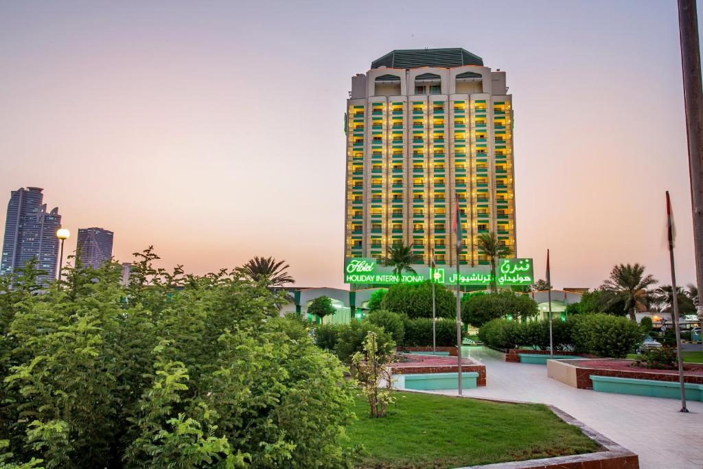 Hotel holiday international sharjah book your hotel for Hotel international