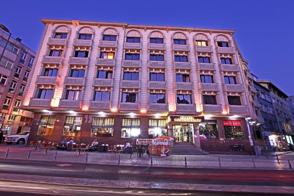 Hotel buyuk hamit istanbul online booking viamichelin for Hotels in istanbul laleli